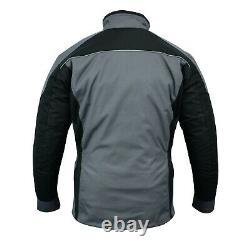 MENS Motorcycle Motorbike Waterproof Breathable CE Armour Cordura Textile Jacket