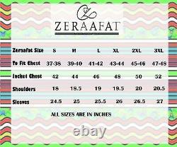 Men's Blazer Coat Jacket Lambskin Leather 100% Genuine Leather by ZERAAFAT