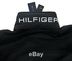 Men's Tommy Hilfiger Yacht Jacket Windbreaker Waterstop Black L Large Nwt