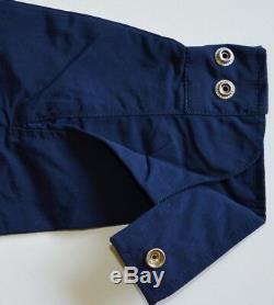Men's Tommy Hilfiger Yacht Jacket Windbreaker Waterstop Navy Blue L Large Nwt