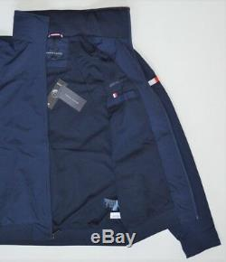 Men's Tommy Hilfiger Yacht Jacket Windbreaker Waterstop Navy Blue M Medium Nwt