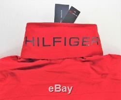 Men's Tommy Hilfiger Yacht Yachting Jacket Windbreaker Waterstop Red M Medium