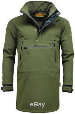 Mens Game Stalking Waterproof Smock Jacket Hunting Shooting Breathable Coat New