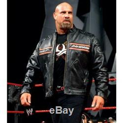 Mens Harley Classic Famous Stylish Black Biker Motorcycle Genuine Leather Jacket
