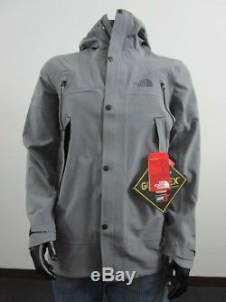 Mens M TNF The North Face Apex Flex GTX Gore Tex Waterproof Parka Jacket Grey