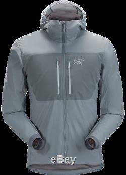 Mens New Arcteryx Proton FL Hoody Jacket Proteus / Gray 2019 Size Medium