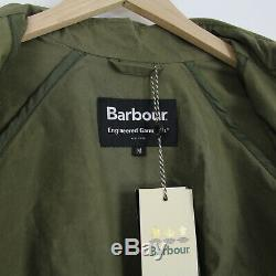 Mens New Barbour x Engineered Garments Unlined Graham Waxed Jacket M Olive Green