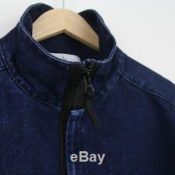 Mens New Stone Island AW16 Polypropylene Denim Jacket XL BNWT Blue Casual Rare