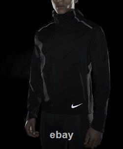 Mens Nike Zonal AeroShield Running Jacket BV4858-011 Medium Black