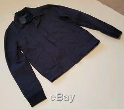 Mens PAUL SMITH HARRINGTON JACKET COAT Navy Size M (40) RRP £260 New Tags