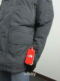 Mens TNF The North Face Mcmurdo III Down Parka Warm Insulated Winter Jacket Grey