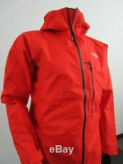 Mens TNF The North Face Proprius L5 Gore Tex Active Shell Climbing Jacket Red