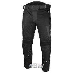 Motorbike Textile Suit Waterproof Motorcycle Riding Suit Armoured Jacket Trouser