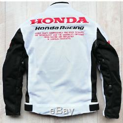Motorcycle Jackets off-road Breathable protective suit for Honda Mesh Riding New