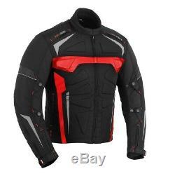 Motorcycle Motorbike Textile Jacket Trouser Biker Suit CE Armoured Waterproof