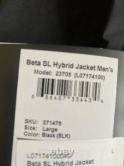 NEW! ARCTERYX Men Beta SL Hybrid Jacket GoreTex Hardshell Large