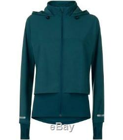 NEW ARRIVAL! Sweaty Betty Fast Track Running Jacket Midnight teal/ RRP £95