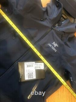 NEW! Arcteryx Women BETA SL HYBRID Jacket(S)GoreTexHardshellCobalt Moon BLUE
