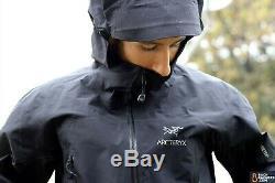 NEW Arcteryx Zeta SL Jacket Men's Extra Small XS Black BRAND NWT Goretex