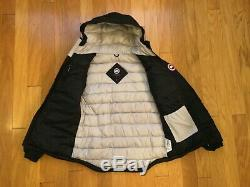 NEW Authentic Canada Goose Camp Hoodie Black Womens size M