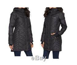 NEW Columbia Women HEAVENLY Long Hooded Jacket, XS-S-M-L-XL