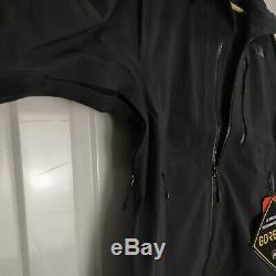 NEW Mens The North Face Apex Flex Hoodie UK Size Large Black Goretex Jacket
