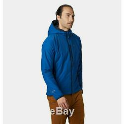 NEW Mountain Hardwear Kor Strata Men's Insulated Hoody/Jacket Blue