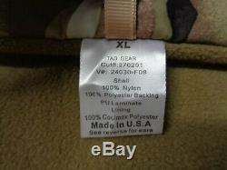 NEW TAD Gear Triple Aught Design Rare Softshell Stealth Hoodie Multicam X-Large