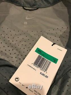 NIKE NikeLab X UNDERCOVER GYAKUSOU PACKABLE RUNNING JACKET GREY AH1156 062 US XL