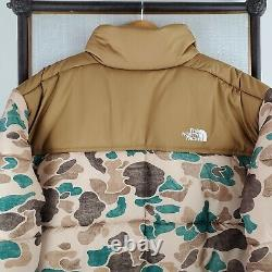 NWT $229 THE NORTH FACE Size 2XL Mens Frogskin Camouflage Saikuru Puffer Jacket
