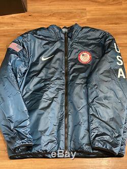 NWT $300 Retail Nike Nikelab Team USA Winter Olympic Summit Jacket 916645-474