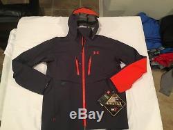 NWT $499.99 Under Armour Mens Ridge Reaper Gore-Tex Jacket Stealth Gray XL
