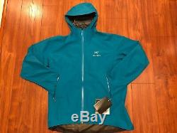 NWT Arcteryx Mens Zeta SL Gore-Tex Jacket Size XXL Dark Firoza (retail $380)