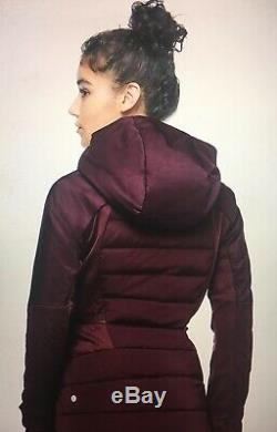 NWT Lululemon Women's Down For It All Jacket 2 Dark Olive DKOV MSRP $198 with Bag