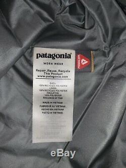 NWT Men's Patagonia Nano Puff Jacket Coat Casual Hiking Cave Grey $199 LARGE