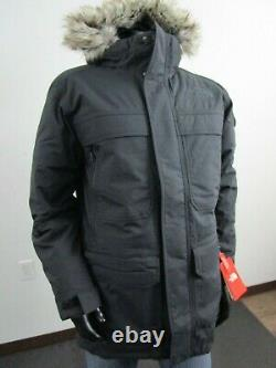NWT Mens TNF The North Face Mcmurdo III Down Parka Insulated Winter Jacket Black
