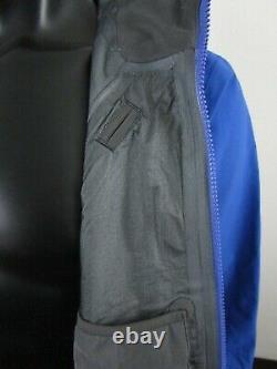 NWT Mens TNF The North Face Mountain Pro Gore Tex 3L Hard Shell Ski Jacket Blue