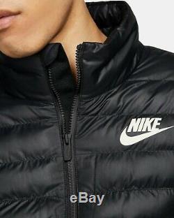 NWT Nike Sportswear Windrunner Down Puffer Coat Jacket Mens XXL Black