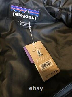 NWT PATAGONIA Mens Nano Puff Black Down JACKET Small $199 84212