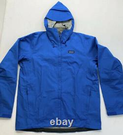 NWT Patagonia Torrentshell 3L Jacket Mens Large Andes Blue $149 85240