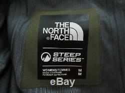NWT Womens The North Face Fuse Brigandine Gore Tex Ski Shell Jacket GTX Olive
