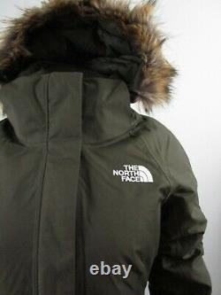 NWT Womens The North Face TNF Arctic Parka 2 Down Warm Winter Jacket Green