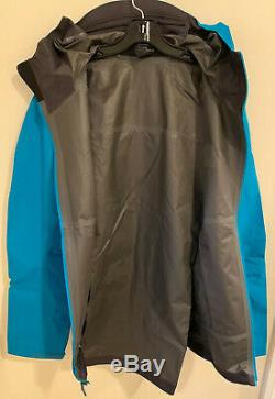 NWTs Arcteryx Mens Zeta SL Gore-Tex Jacket. XXL. Dark Firoza (retail $299)