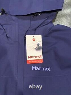 NWTs Marmot Women's Minimalist Gore-Tex Jacket. X-Large. Deep Dusk (MSRP $189)