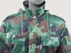New 100% Genuine Serbian Army Issue Winter Parka Jacket & Thermal Liner All Size