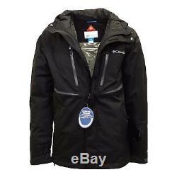 New $200 Columbia mens Frozen Granular Omni Heat waterproof ski snow jacket coat