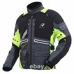 New 2020 Rukka Orivesi Goretex Breathable Waterproof Textile Motorcycle Jacket