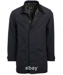 New $349 Barbour Black Waterproof/breathable Full Zip Golspie Jacket Size S