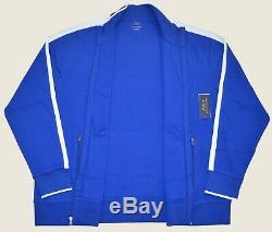 New 4XLT 4XL TALL POLO RALPH LAUREN Track suit jacket Mens Blue 4XT top sport