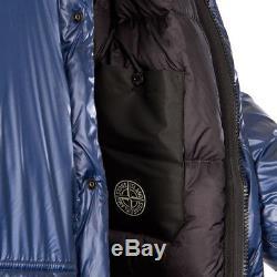 New AW18 Stone Island Pertex Quantum Y Down Parka Jacket Ink Blue